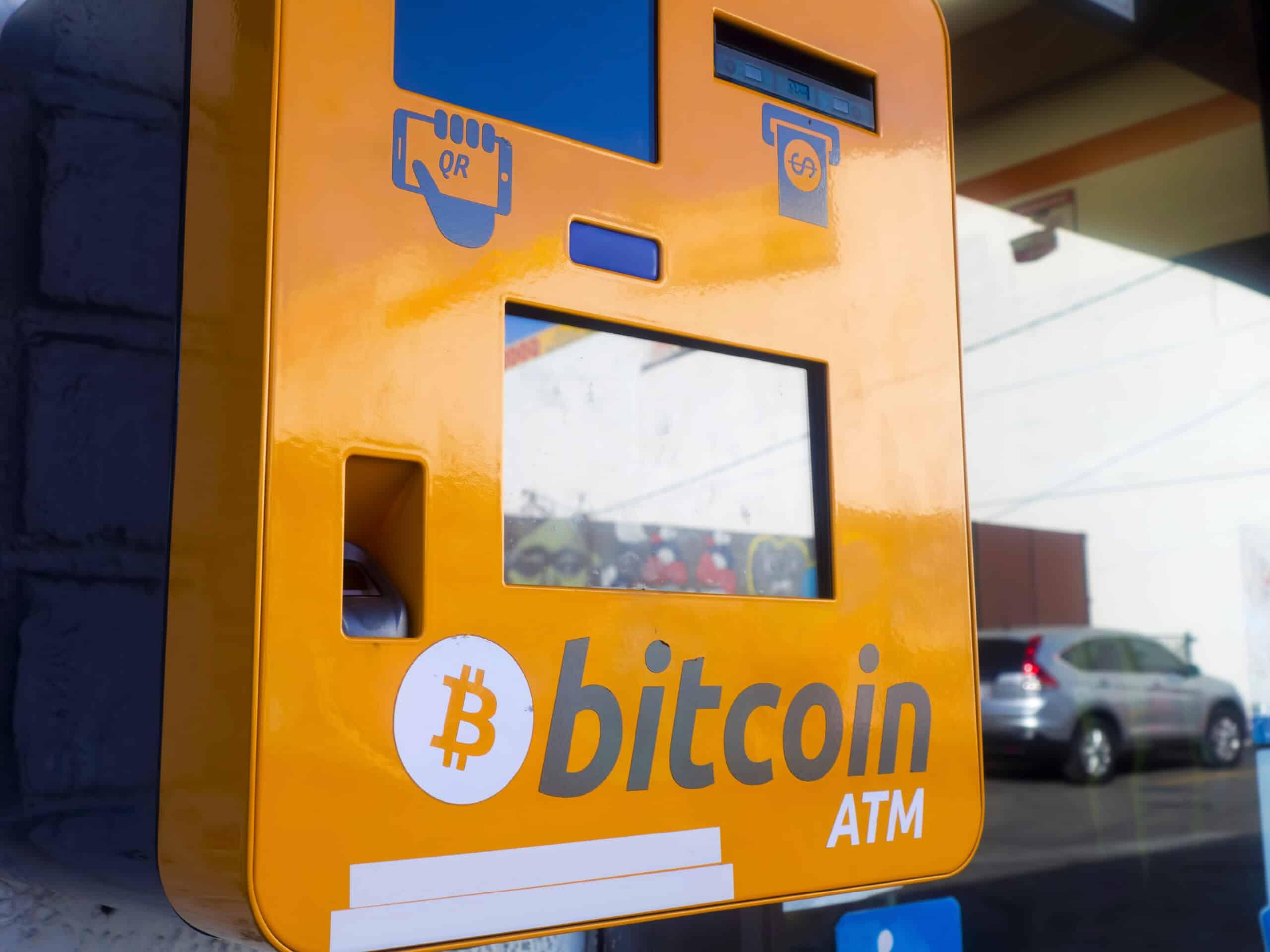 Bitcoin ATM Automat