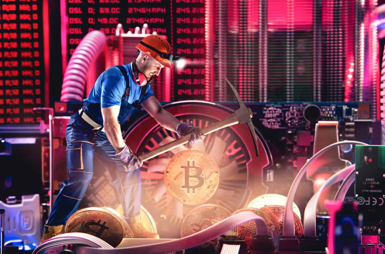 Wie viel verdient Mann durch Bitcoin Mining