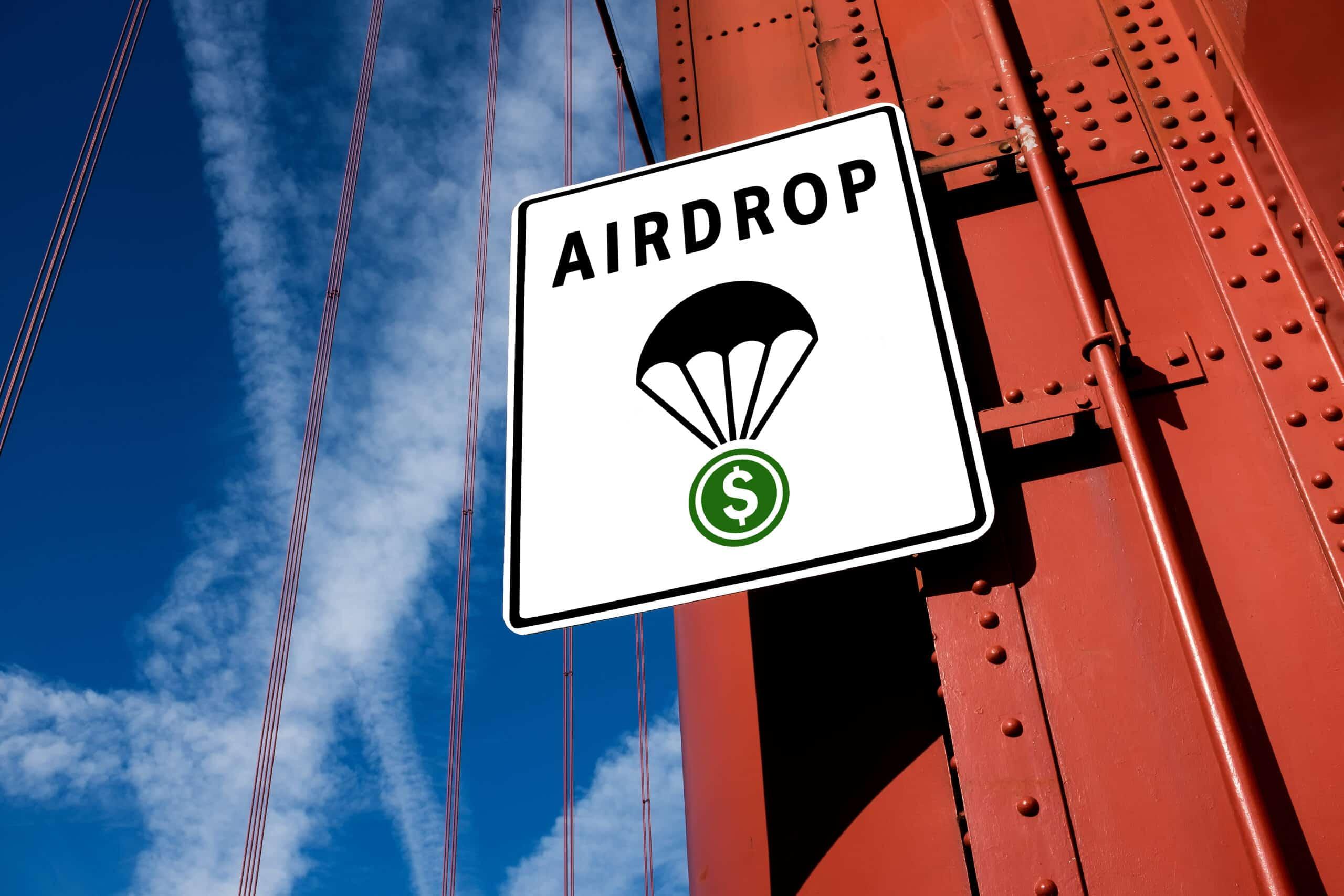 Airdrop Symbol
