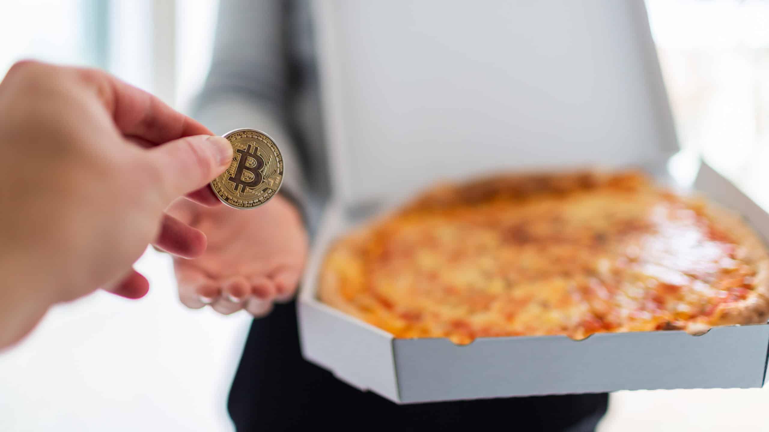 Bitcoin Pizza Day Münze