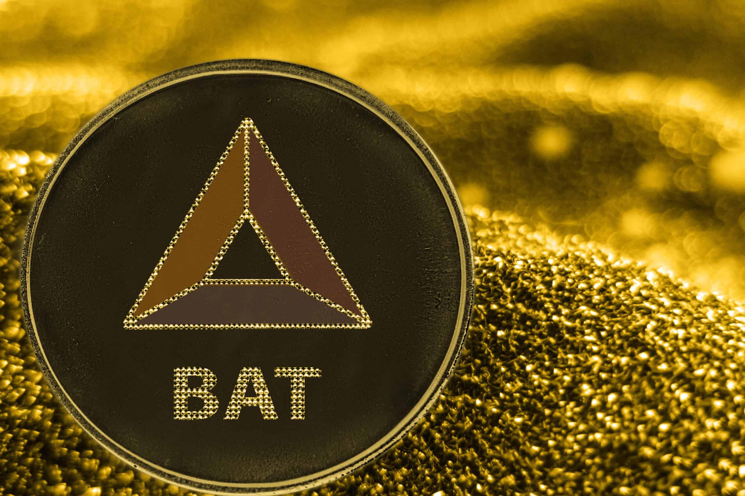 Basic Attention Token BAT Goldmünze