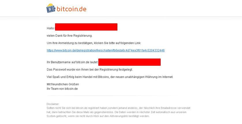 bitcoin.de email
