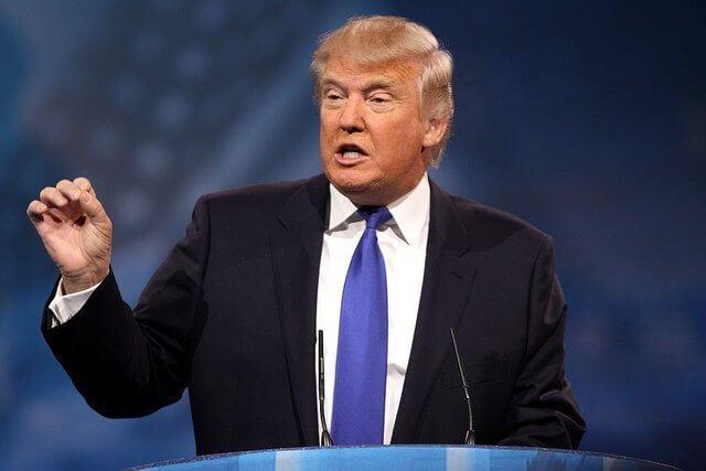 Rede von Donald Trump