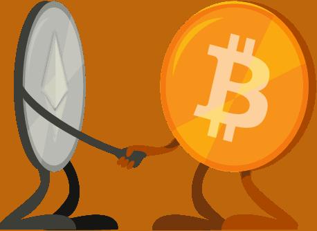 Bitcoin vs. Ethereum: Koexistenz oder Konkurrenz ?