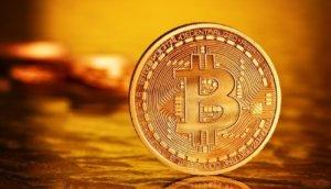 Photo .Golden Bitcoins (new virtual money )