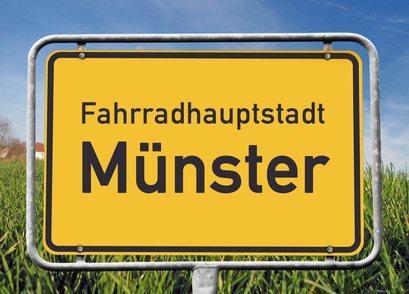 Fahrradhauptstadt MünsterBild ist Fotomontage