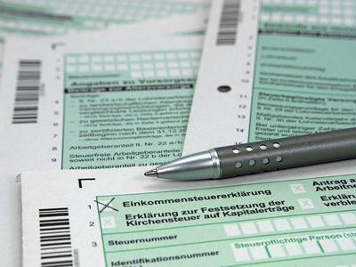 Steuern, Einkommensteuererklärung