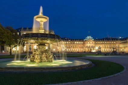 Square Schlossplatz, Stuttgart, Germany