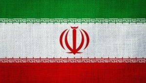 IRAN, Flag, Canvas Flag