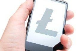 Litecoins on smartphone