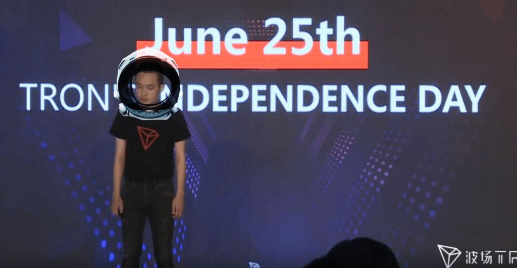 Justin Sun: Verkappte Mondlandung bei TRON – Der Launch des Mainnets