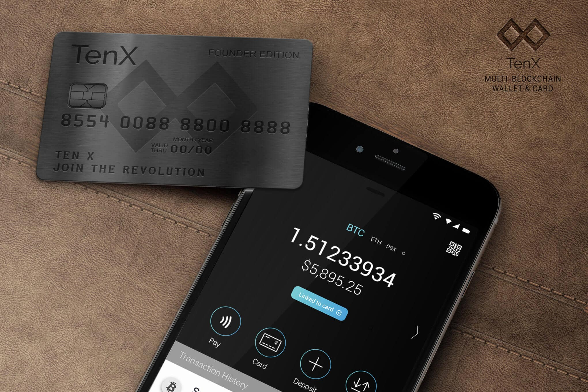 TenX, TenX: Kursanstieg bei PAY & Bank Identification Number