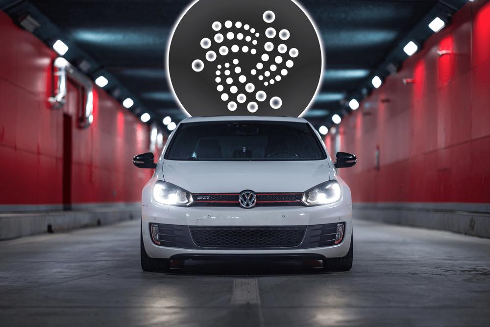 IOTA: Autonome Fahrzeuge in Partnerschaft mit Volkswagen