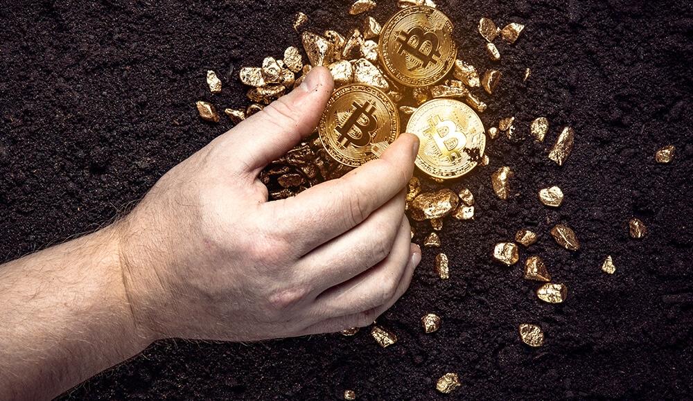 Bitcoin over 50%