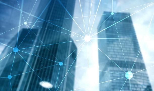 Hochhäuser und dezentrale Netze