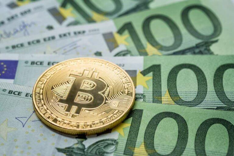 wie viel euro sind ein bitcoin