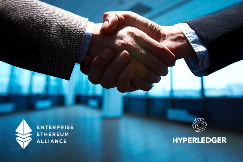 Gemeinsam stärker: Hyperledger verbrüdert sich mit Enterprise Ethereum Alliance
