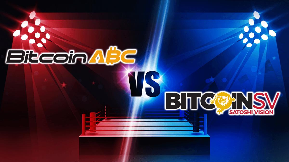 Bitcoin Cash, Der Bitcoin-Cash-Bürgerkrieg: ABC vs. SV
