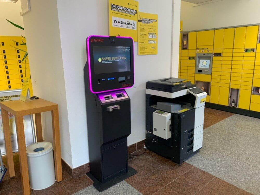 Bitcoin, Österreich: Post stellt Bitcoin-Automaten auf