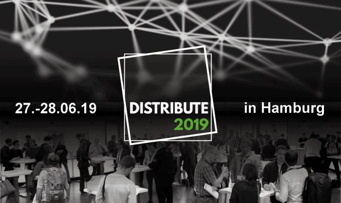 DISTRIBUTE 2019 Blockchain Conference – Der Countdown läuft