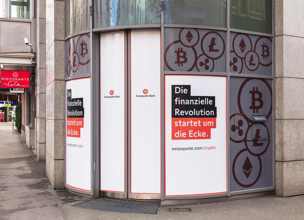 Swissquote: Schweizer Bank kündigt Ausbau von Krypto-Service an