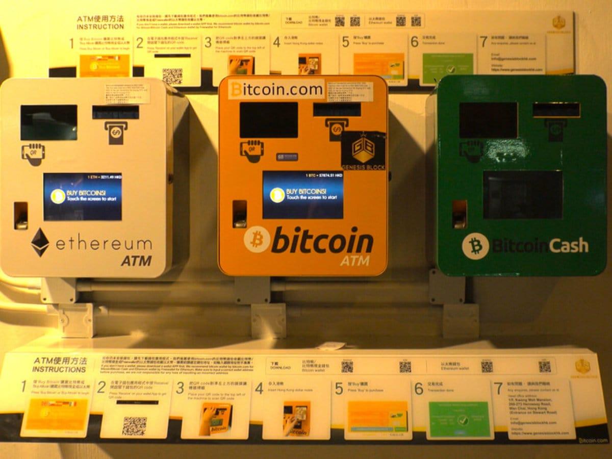 Weltweit erster Bitcoin-Geldautomat steht in Kanada