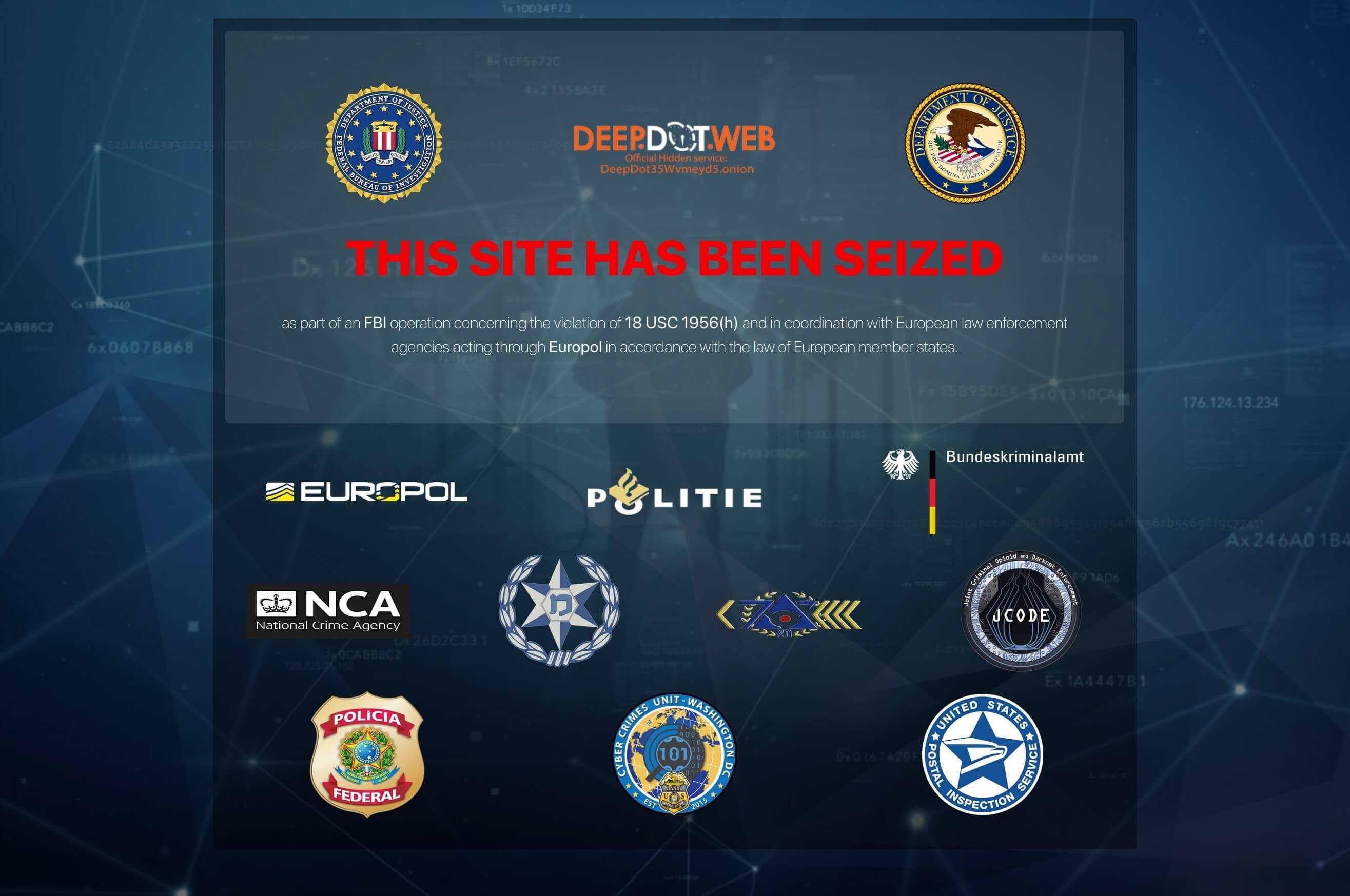 US-Justiz verhaftet Betreiber von Darknet-Webseite Deep Dot Web