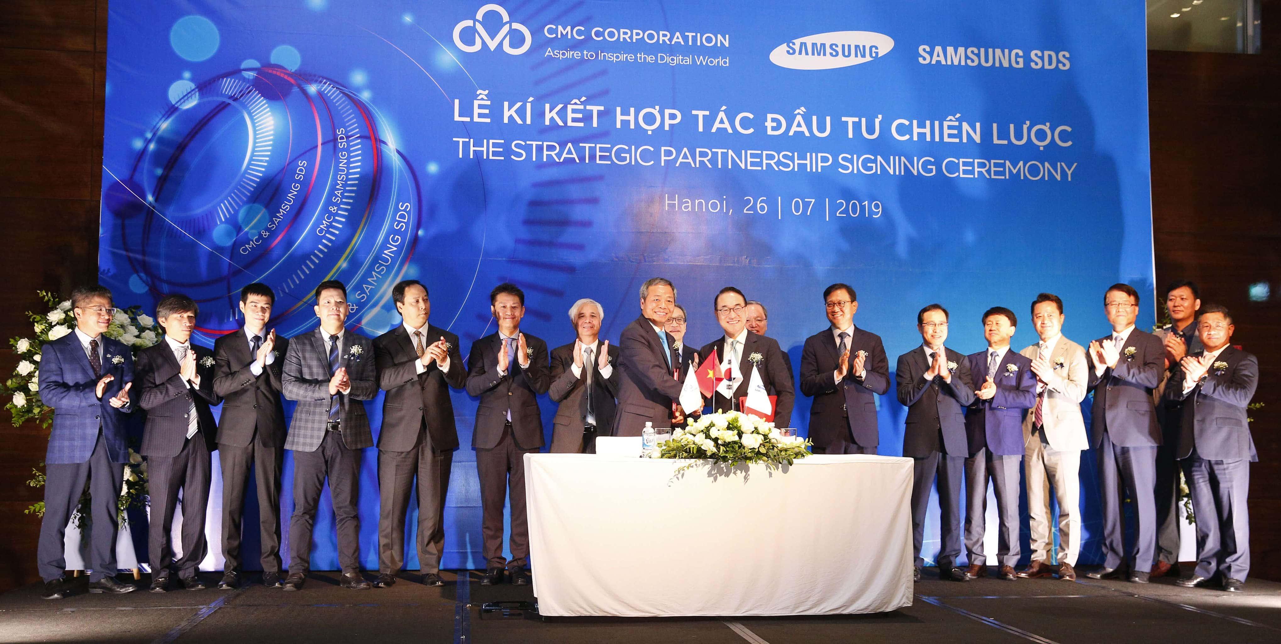 Blockchain-Förderung: Samsung SDS kooperiert mit vietnamesischem Telekommunikationskonzern