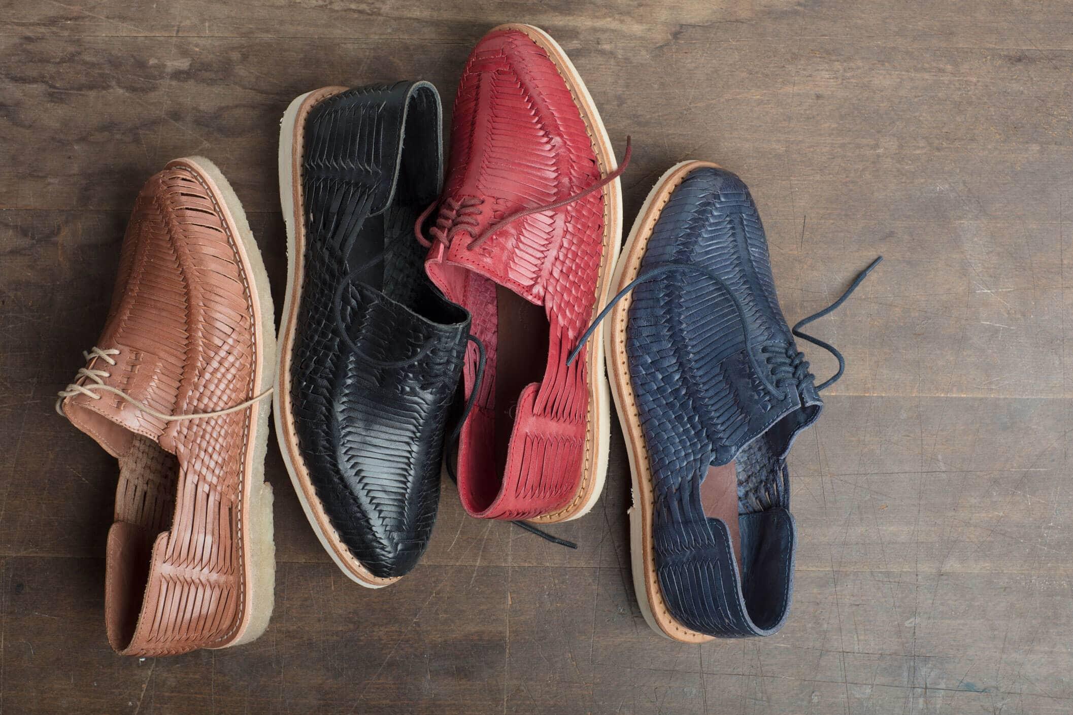 Schuhe von CANO, die per Blockchain überprüft werden können.