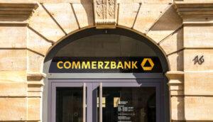 Eine Commerzbank-Filiale.