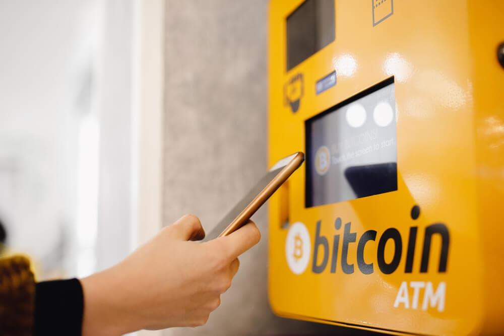 Bitcoin ATM (Symbolbild)