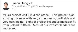 Jason Hung über MLGC