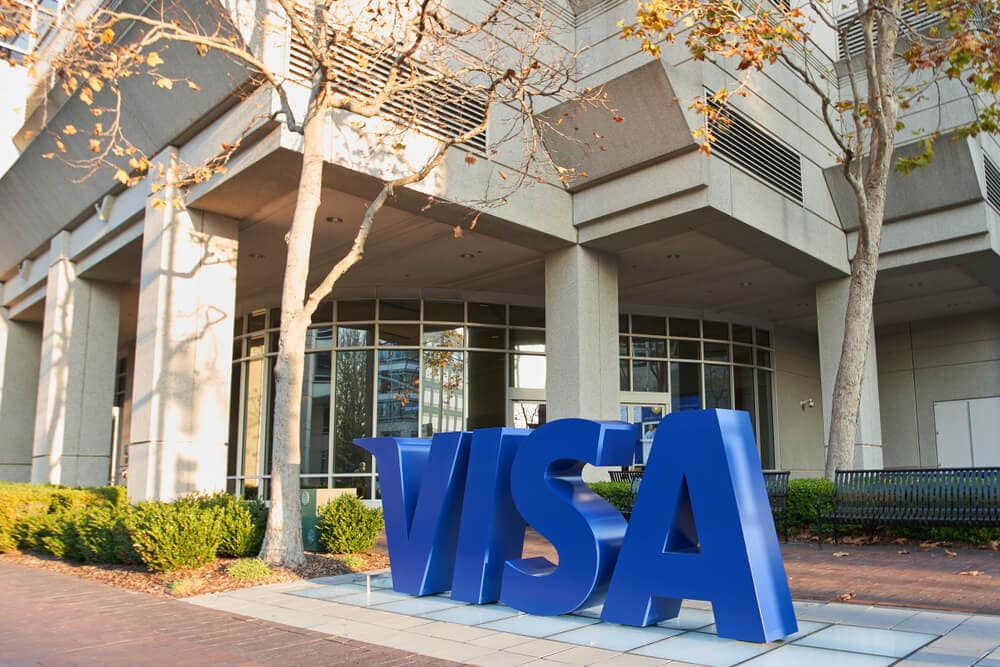 Visa Blockchain-Technologie Connect B2B Bitcoin