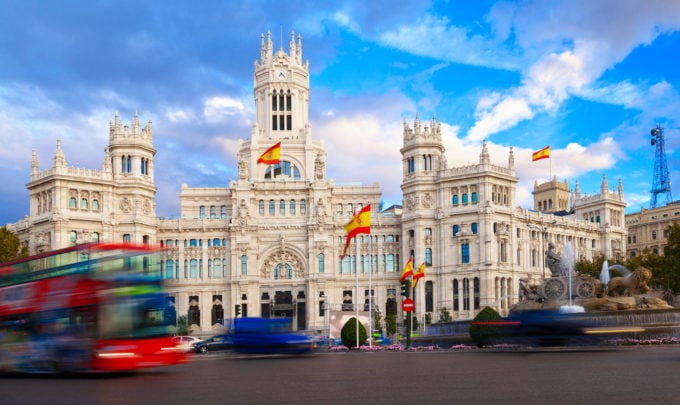 Banco Santander: Blockchain-App für Madrids ÖPNV