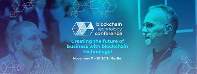 Blockchain Technology Conference in Berlin: Mit Blockchain-Technologie die Business-Zukunft gestalten