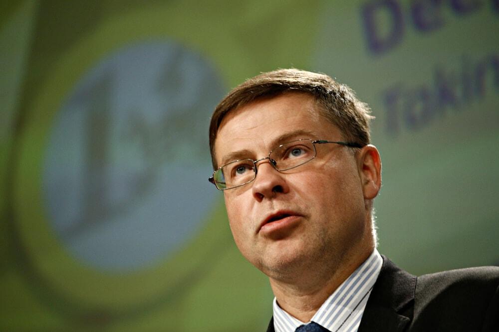 Libra, EU-Kommissar Dombrovskis fordert eindeutige Gesetzgebung für Kryptowährungen