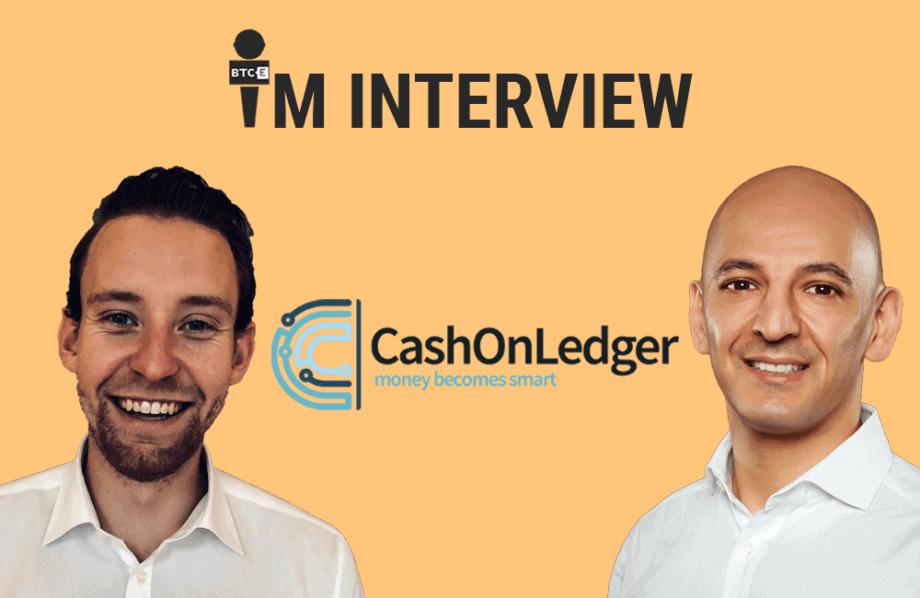 """CashOnLedger im Interview: """"Wir haben den Euro auf die Blockchain gebracht"""""""