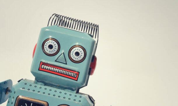 Trading (Symbolbild) durch Roboter verkörpert