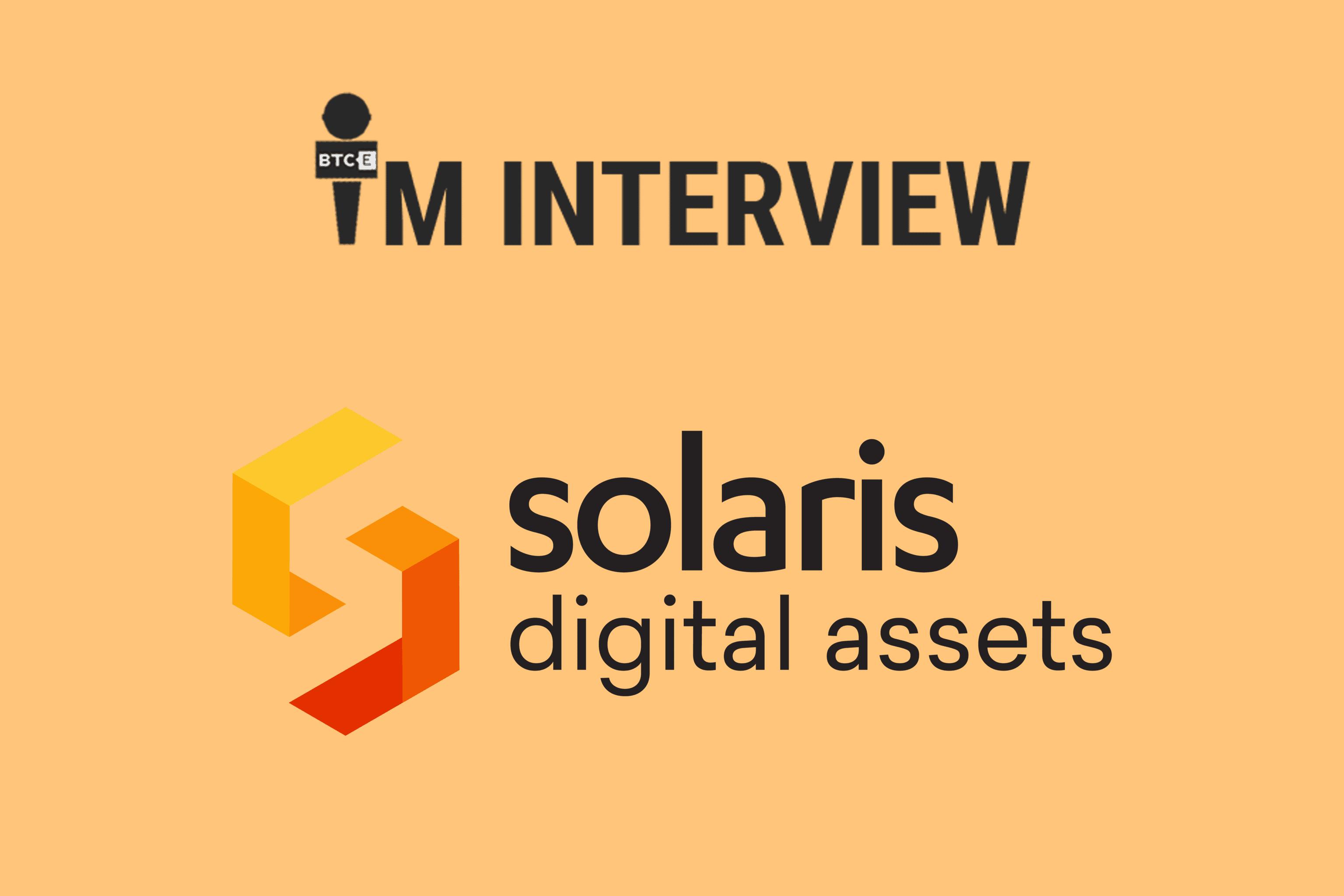 Interview mit Alexis Hamel von der neu gegründeten solaris Digital Assets GmbH
