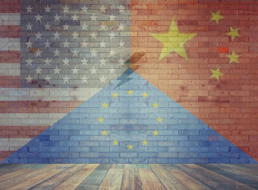 Bitcoin, Stable Coins, Digitales Wettrüsten, China, USA