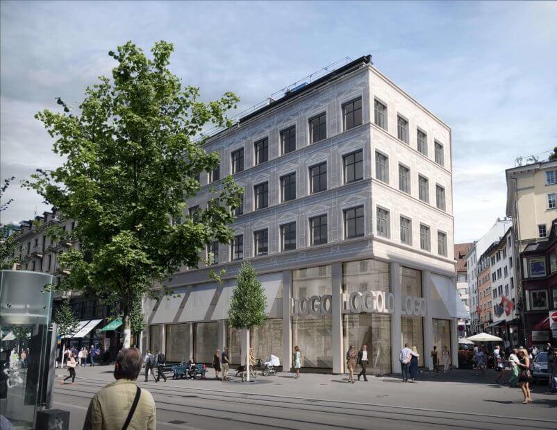 Das Gebäude in der Bahnhoffstraße 52 – ein Präzedenzfall in Sachen Immobilen-Tokenisierung