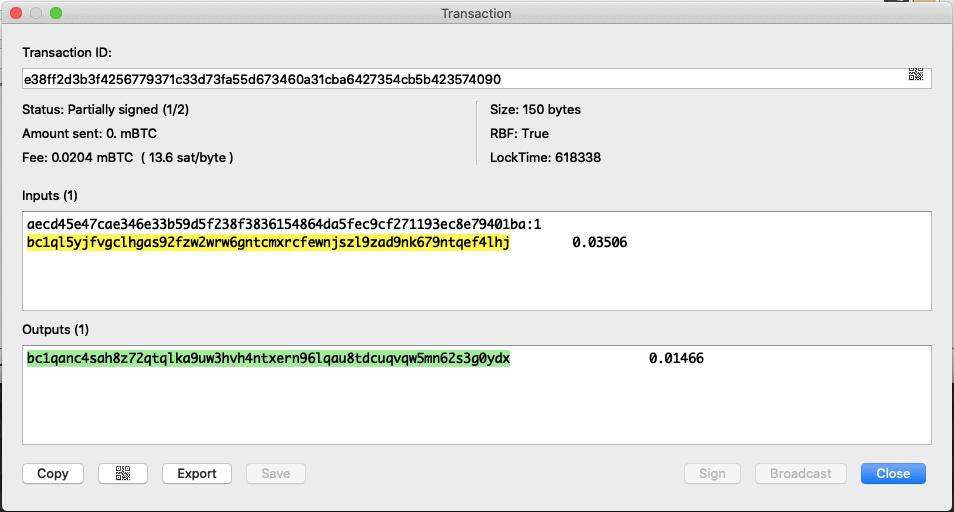 Wie groß ist eigentlich eine Bitcoin-Transaktion? Mit Electrum leicht bestimmbar