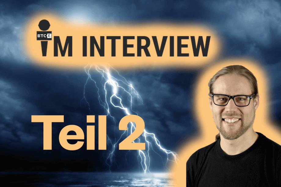 BTC-ECHO im Interview mit Rene Pickhardt über das Lightning-Netzwerk