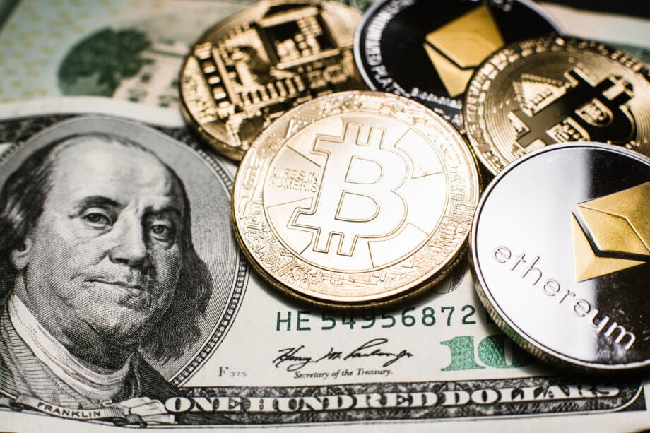 Kryptowährung - Fiat Geld