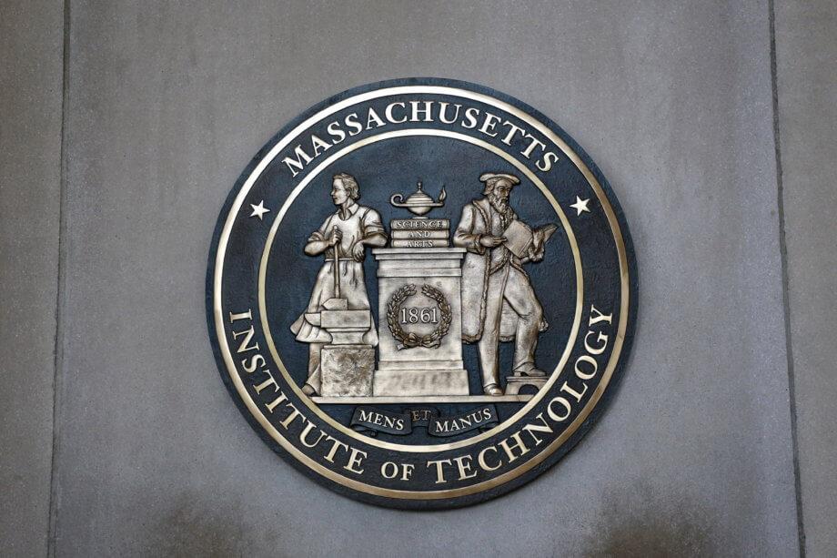 MIT-Plakette