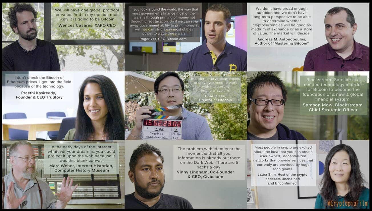 Einige Stimmen aus der Bitcoin-Dokumentation Cryptopia