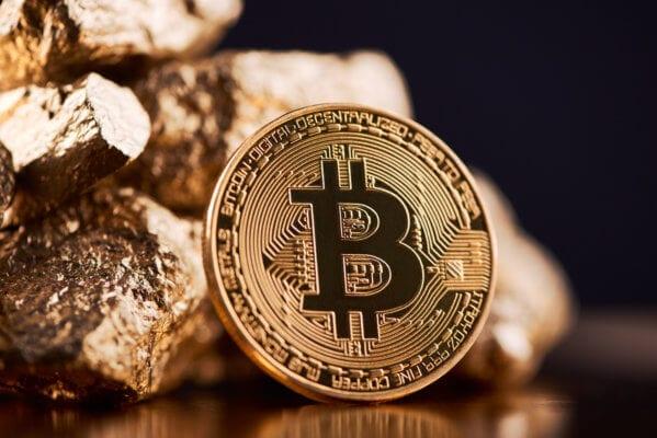 Gold und Bitcoin