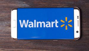 Walmart-Logo auf Smartphone