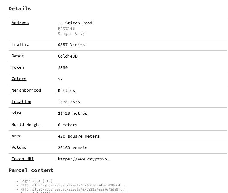 Wie man via Cryptovoxels seine Immobilien bewerten kann