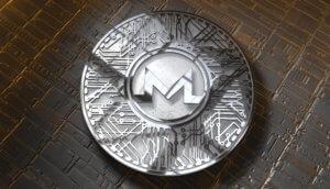 silberne monero münze